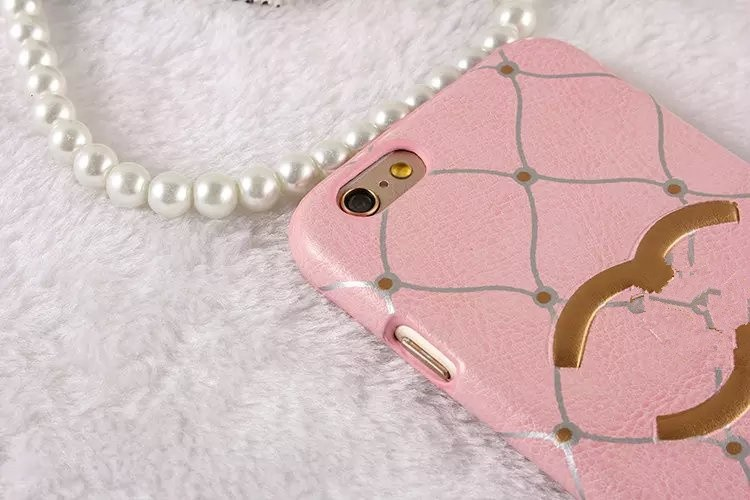 Luxury fashion small fragrant wind leather for iPhone6 6s 6plus Phone Case leather protective sleeve big names reliefs for women