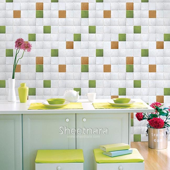 Achetez en gros de vinyle de mosa que en ligne des - Mosaique auto adhesive salle de bain ...