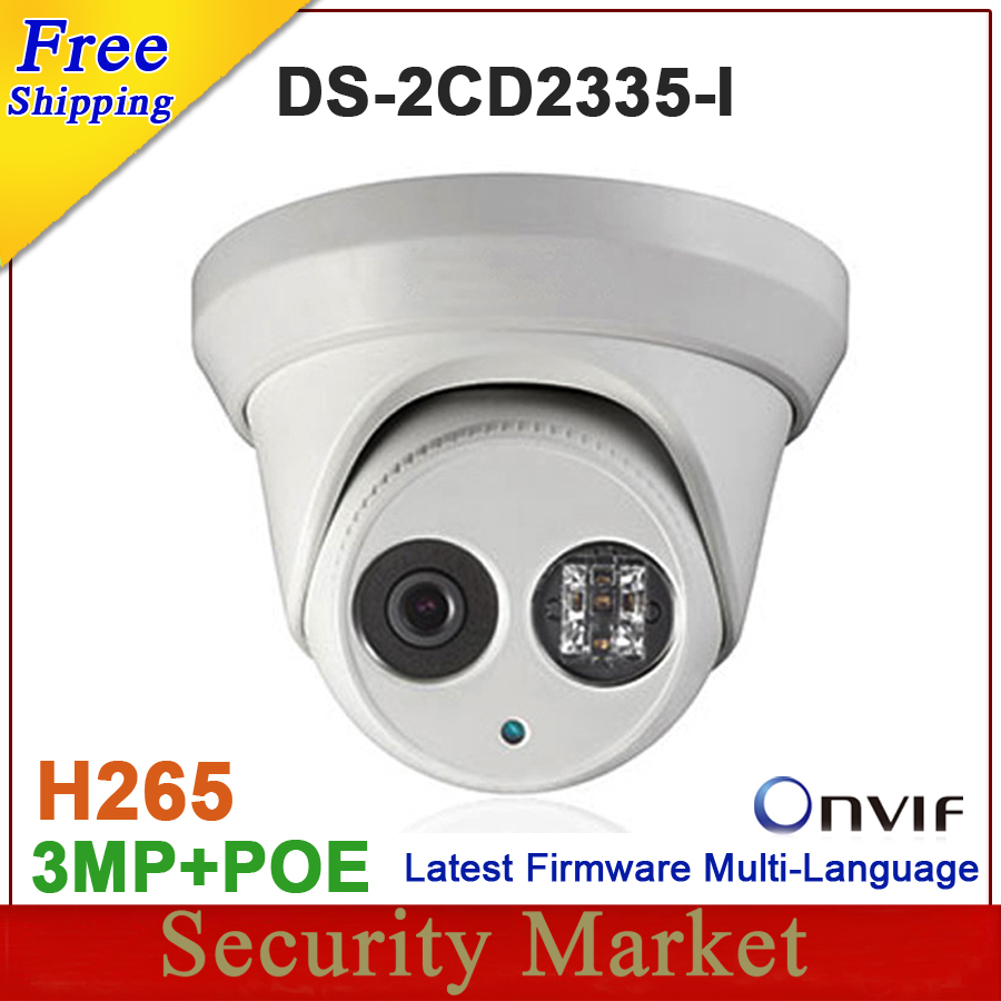 New arrival DS-2CD2335-I replace DS-2CD2332-I 3mp 30m IR Network Dome security CCTV poe ip camera H265 IPC
