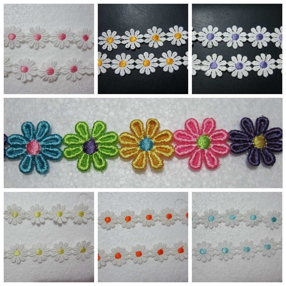Embroidery flowers diy makaroka