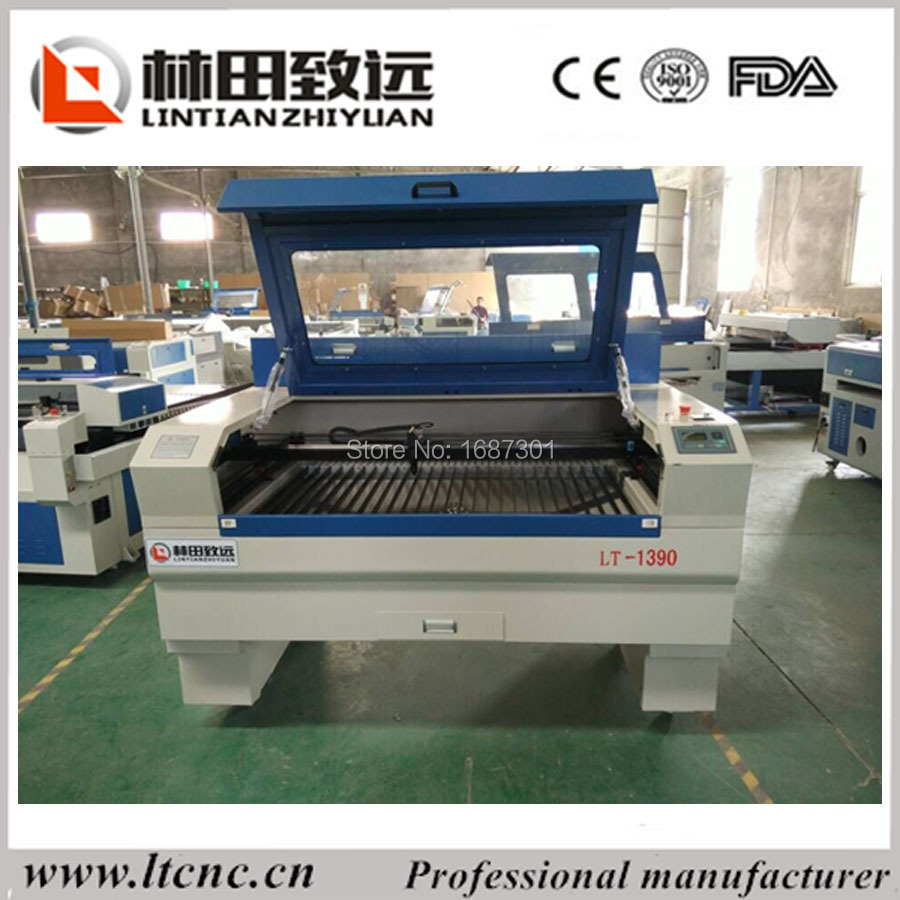 LT-1390 laser cutter price for credit card making machine(China (Mainland))