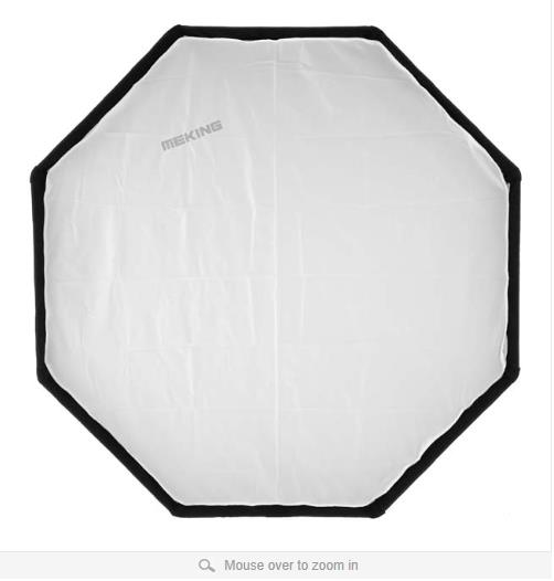 Meking 120cm Soft Box Octagon K120 Softbox Bowens Mount carrying bag photographic Studio Accessories - Photographic Equipment Home store