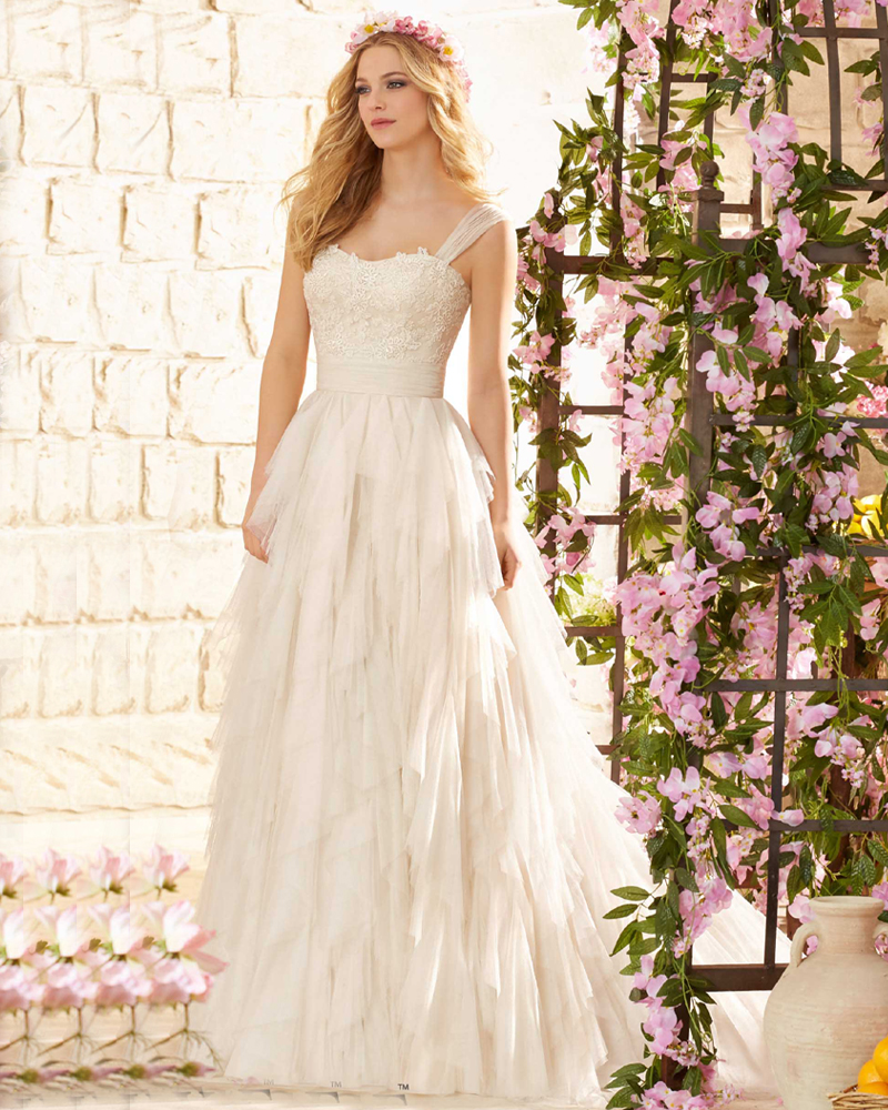 Latest Wedding Dresses And Their Prices : Tulle vestidos de novia cheap price new arrival wedding dresses