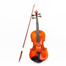 High Quality 1/8 Violin Fiddle Basswood Steel String Arbor Bow Stringed Instrument Musical Toy for Kids Beginners(China (Mainland))