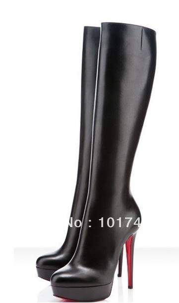 Здесь можно купить  2013 new full-leather black sheepskin boots external water winter round side zipper women motorcycle boots 2013 new full-leather black sheepskin boots external water winter round side zipper women motorcycle boots Обувь