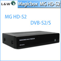 Good quality!Satellite tv receiver decoder name Magicbox MG HD-S2,support DVB-S2,And It is perfect as Zgemma Star S2