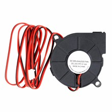 Buy Computer Accessories 24V Brushless DC Cooling Turbine Blower Fan 5015 50*62*15mm Durable New for $1.46 in AliExpress store