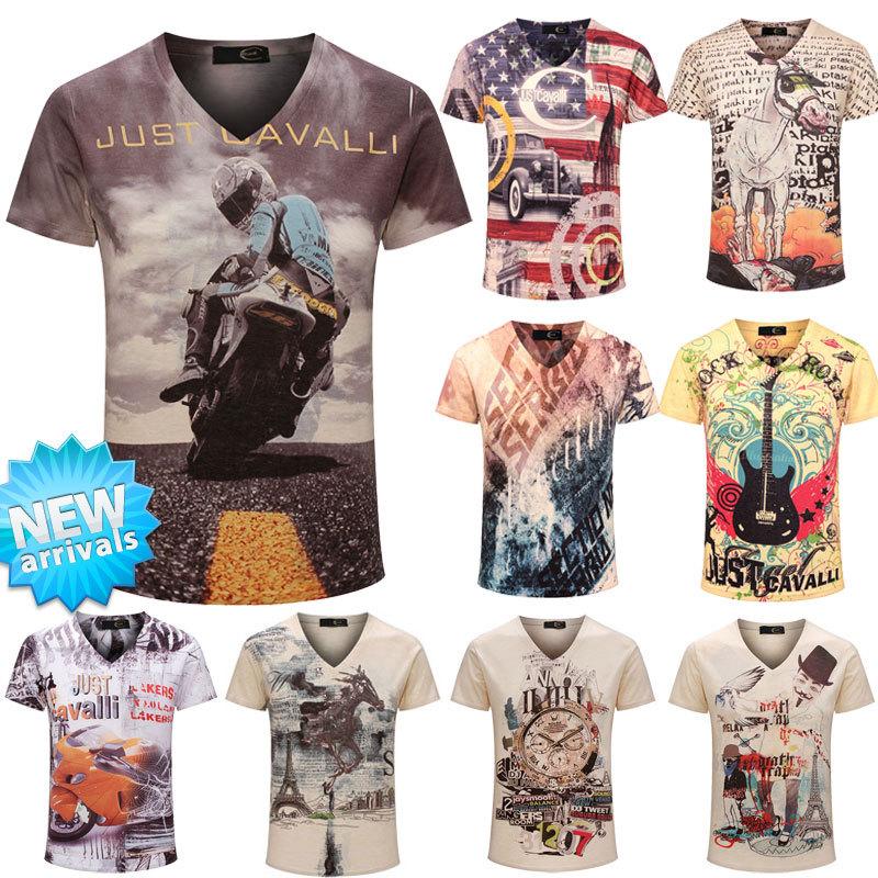 Мужская футболка YD 3D T 2015 /T v/TshirT YD-6324 женская футболка other 2015 3d loose batwing harajuku tshirt t a50