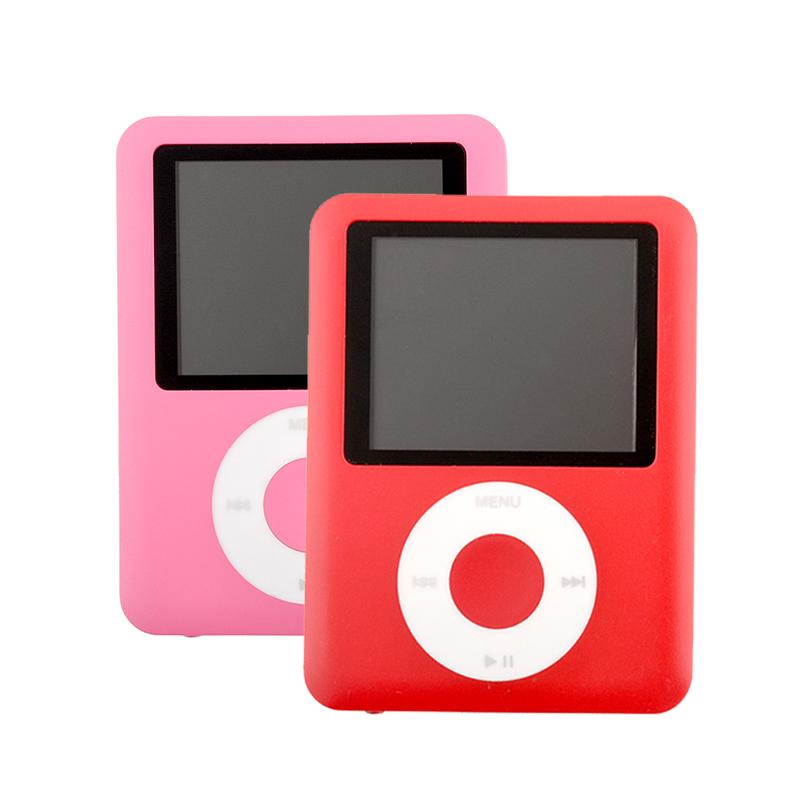 MP3 Player FM Radio 32GB Slim 3TH 1.8 inch LCD screen Mini Sport Light Music Player 6 Colors for choose(China (Mainland))