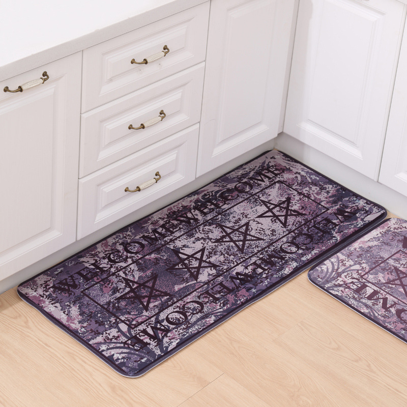 Online get cheap floral rug runner for Country style kitchen rugs