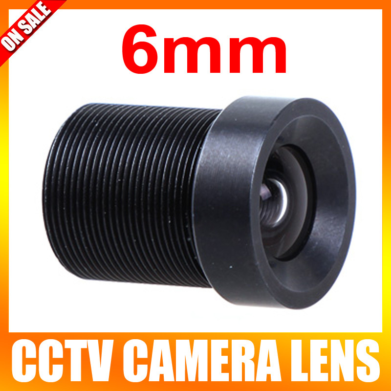 CCTV Lens 6mm 57 Degree Wide Angle Lens Fixed CCTV Camera IR Board M12 Lens(China (Mainland))