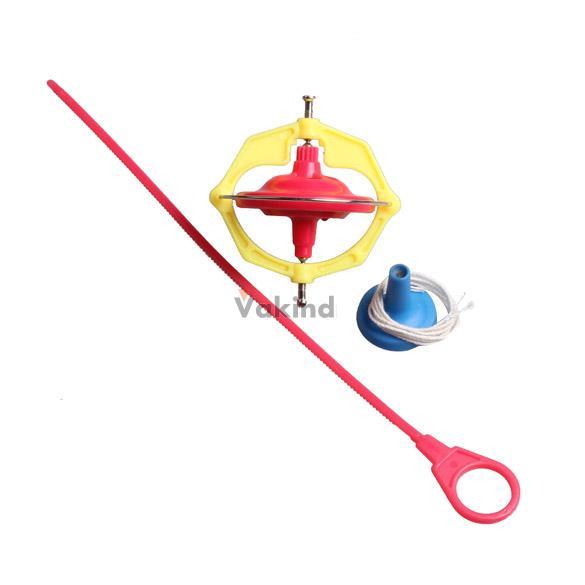 V1NF Amazing Multifunctional Manual Whirlwind LED Music Gyroscope Toy Peg-Top High Quality Free Shipping(China (Mainland))