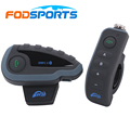 Fodsports V8 Remote Control 5 riders motorcycle bluetooth helmet intercom bt interphone headset with FM moto