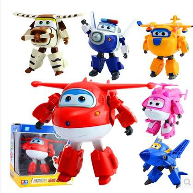 Big Size Original box12CM Super Wings Toys Deformation Planes Transformation robot Action Toy Figures kids toys gift Brinquedos(China (Mainland))