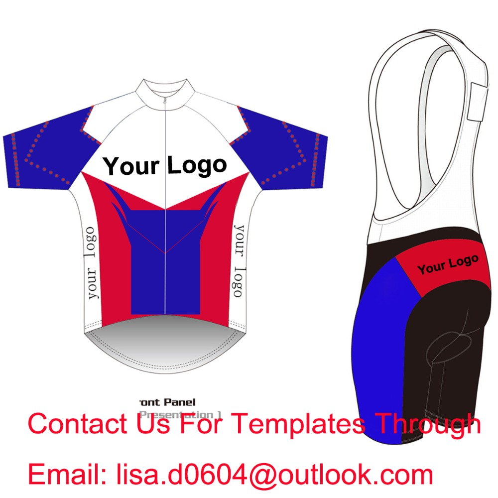 Custom Cycling Jersey And BIB Shorts Summer Set DIY Bicycle Wear Polyester + LyCra Any Color Any Size Any Design Free shipping(China (Mainland))