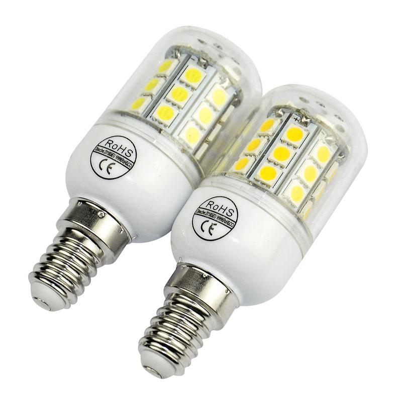 New lamp E14 SMD 5050 led bulb 30led 5050smd LED corn lamp 110V/220V bulb Warm white/white light(China (Mainland))