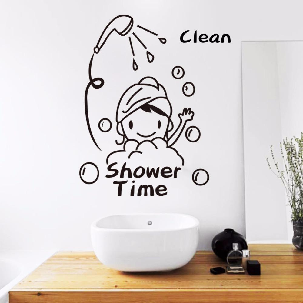 bathroom door decals good ideas | a1houston