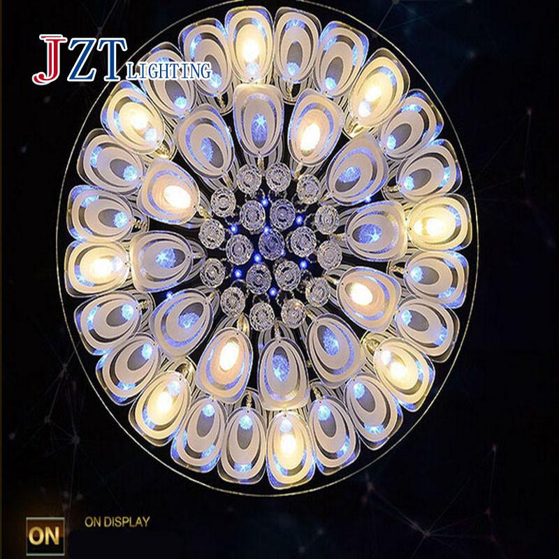 Z best price luxury modern modern led caystal lamp for Best modern lighting websites