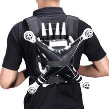 2016 New Black Portable Backpack Belt Shoulder Harness Strap For DJI phantom 3 2 Quadcopter Drone Professional Luggage Bag Case