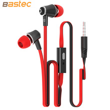 Langstom Original 3.5MM Stereo HIFI Bass Earphones with Built-in Microphone Headphone for iPhone Samsung MP3(China (Mainland))