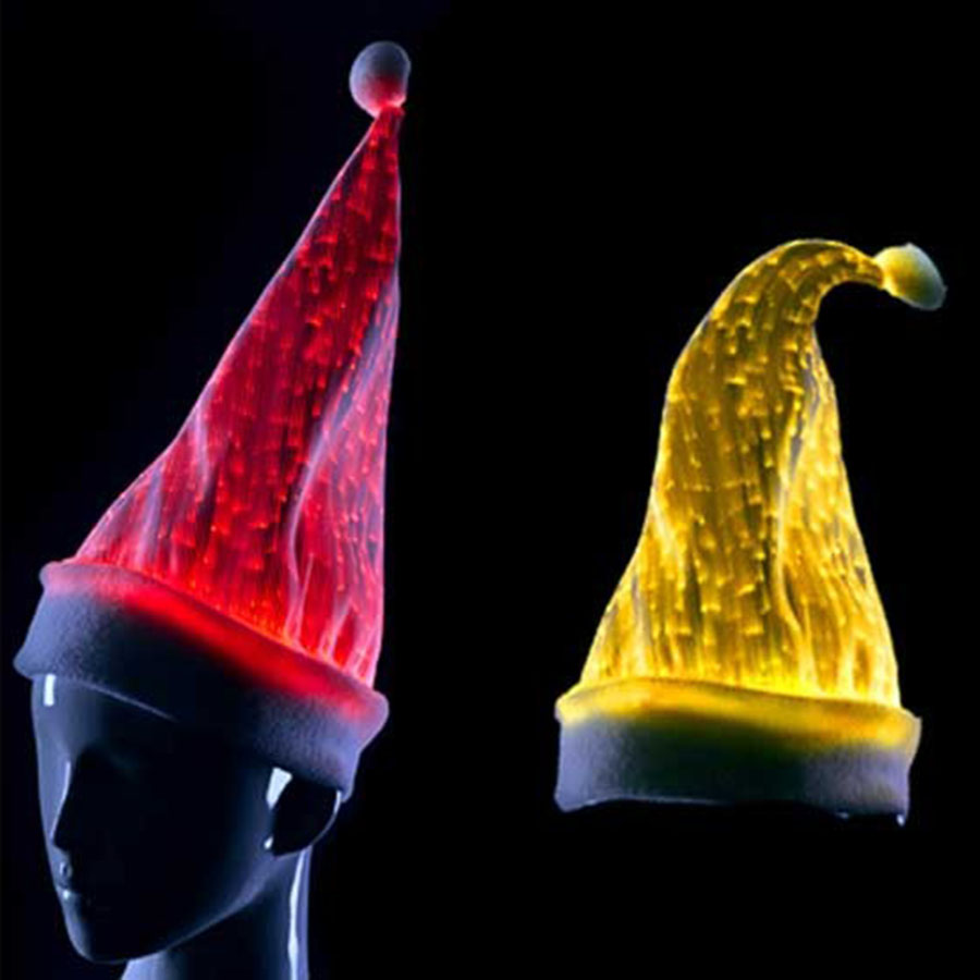 RGB LED Lights Christmas Cap