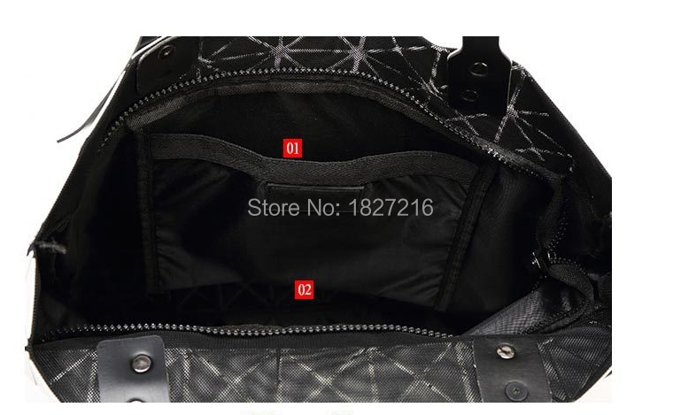 Women's Handbag Fashion Brand Japan Style Hight Quality Like As BAOBAO Bag Lattice Geometry Shoulder Bag Mosaic Totes Bag9*9