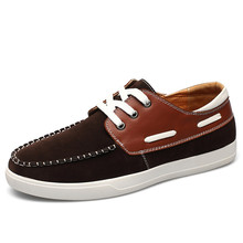 Big Size New Boat Shoes Breathable Comfortable Moccasins Men Flats With Nubuck Leather Lace Up Driving Shoes For Male c227 65(China (Mainland))