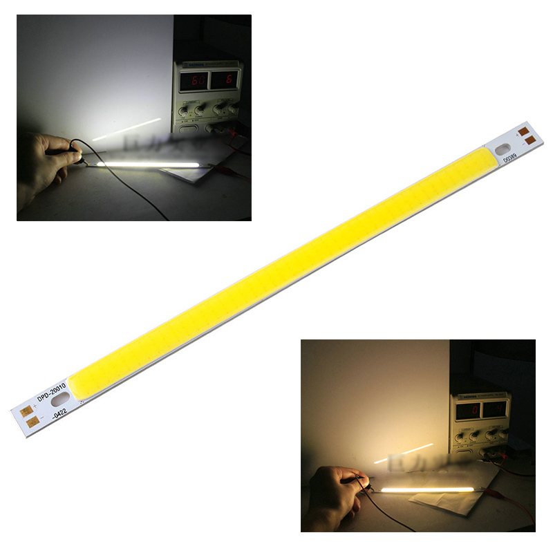 High Power 10W COB LED Lamp Light Bulb 12V - 14V 1000LM Warm Pure White for DIY 200x10MM DTZE #49851(China (Mainland))