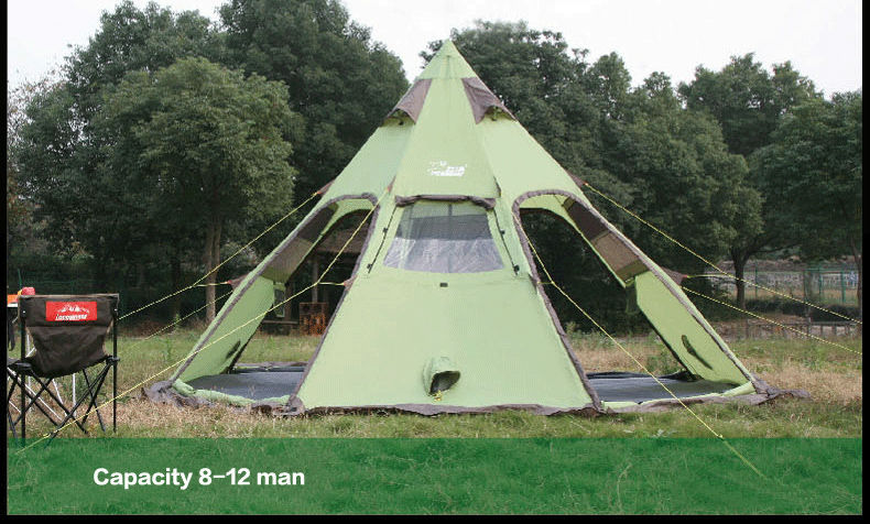 Guide Gear 10x10u0027 Teepee Tent & Guide Gear Teepee Tent