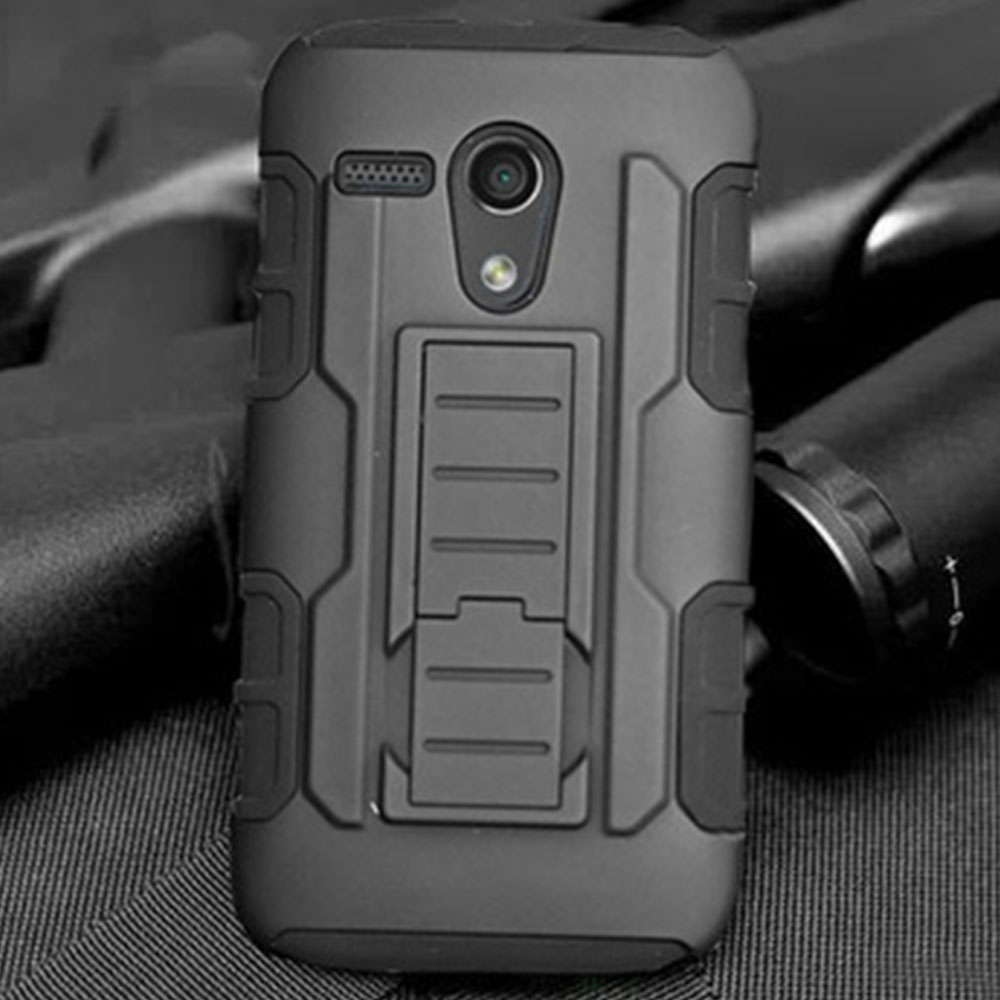 For Motorola Moto X X2 X3 Play Style G G2 G3 Droid Ultra XT1080 Google Nexus 6 Case Cover Armor Impact Holster Stand Hard Case(China (Mainland))