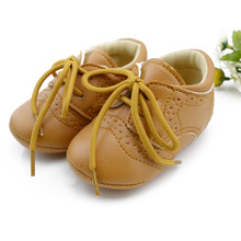 New British Style Baby Kids Shoes Infant Toddler Leather Shoes Prewalker Free Shipping