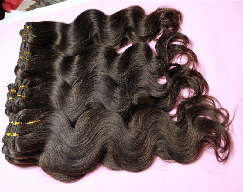 Free shipping,wholesale hair 20 bundles mocha Brazilian body wave wavy brown human cheap hair weaves extensions 1kilo=35oz