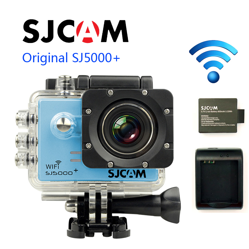 Free Shipping!!Original SJCAM SJ5000+ Ambarella A7 Action Camera+Extra1pcs battery+Battery Charger+32GB Card+Car Charger+Holder