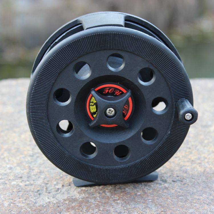2015 Hot Sale Carp Daiwa Free Shipping Plastic Wheel Fish Line Flywheel Bearing 2bb Ice Reels Apply Before The Fight Pole----d2(China (Mainland))