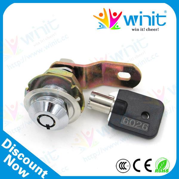28MM Zinc Cash Door Tool Box Tubular Metal Cam Lock Mailbox Cabinet Drawer Lock With Cylinder Key Arcade Game Machine Parts(China (Mainland))
