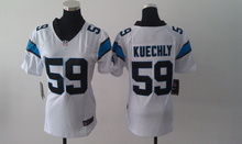 2016 Women Ladies Carolina Panthers,1 Cam Newton 59 Luke Kuechly #24 Norman,#88 Olsen 100% stitched logo(China (Mainland))