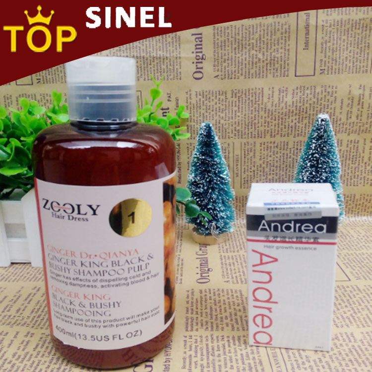 400ml hair shampoo and conditioner professional ginger hair loss treatment,fast hair growth products growth quickly and thickly(China (Mainland))