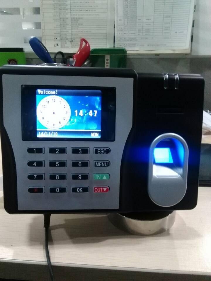 Фотография Free Shipping KO-MX629 Economic Model Biometric Fingerprint Time Attendance USB Communication