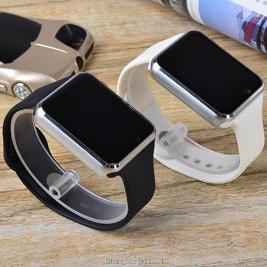 2016 News A1 Bluetooth Smart Watch Wrist Watch Men Sport watch for Apple iPhone 6 Samsung S4/Note 2/Note 3 HTC Android/IOS Phone(China (Mainland))