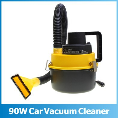 12V Portable Auto Car Dust Vacuum Cleaner Car Vacuum Cleaner Mini Car Vacuum Cleaner Wet and Dry Dual-use High Power 90W(China (Mainland))