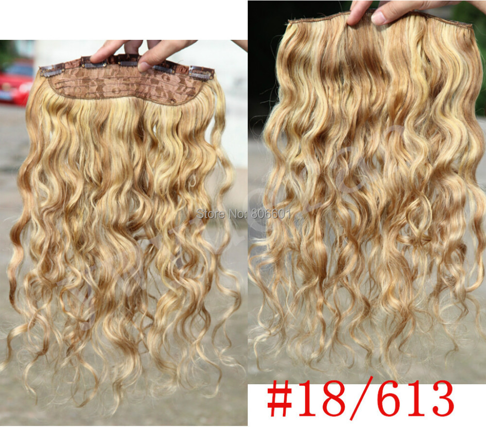 silk wavy #2 dark brown 100g 16-28 100% remy virgin human hair one piece clips in/on extensions  5 clips set  free shipping<br><br>Aliexpress