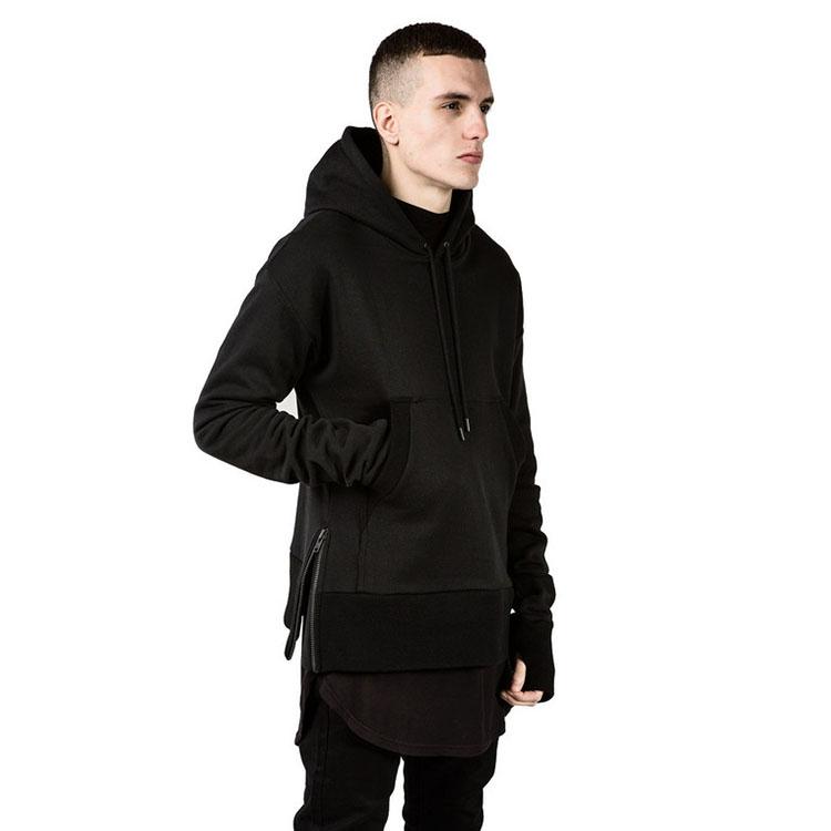 Popular Plain Black Hoodie-Buy Cheap Plain Black Hoodie lots from China Plain Black Hoodie ...