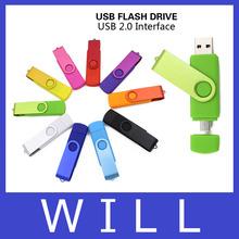 New Usb Flash Drive Micro OTG Phone 4GB 8GB 16GB 32GB Pen Drive Pendrive U disk Smart Phone Metal External Usb 2.0 Memory Stick(China (Mainland))