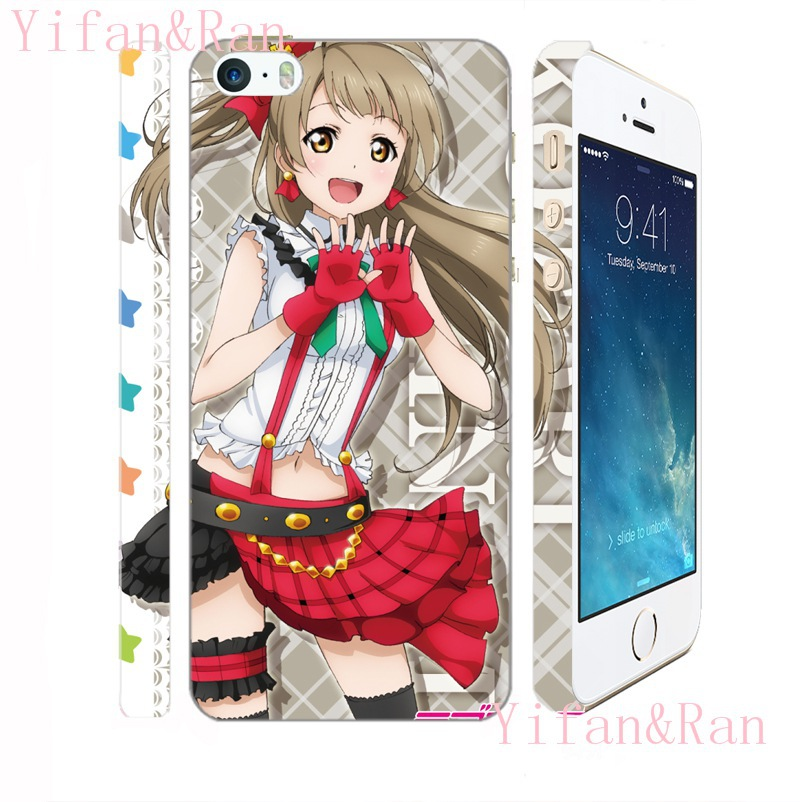 Japanese Anime Love Live Mobile phones HARD case for iPhone 4/4s 5/5s 6 plus, LL 084(China (Mainland))