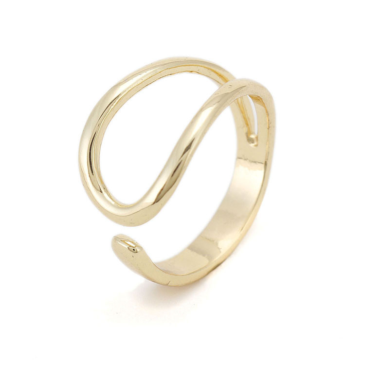 fashion new sale ring design gold metal