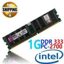 Новое загерметизированная DDR1 DDR 333 / PC 2700 PC2700 1 ГБ для настольных пк DIMM озу DDR333 333 мГц совместимость с процессоров Intel !