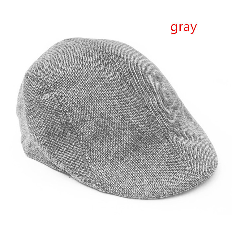 2015 new Summer beret men design linen hat women autumn and winter berets comfortable boinas breathable