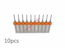 Freeshipping 10pcs/Set 0.65mm High Quality Hard Alloy PCB Print Circuit Board Carbide Micro Drill Bits Tool 0.65mm  for SMT CNC