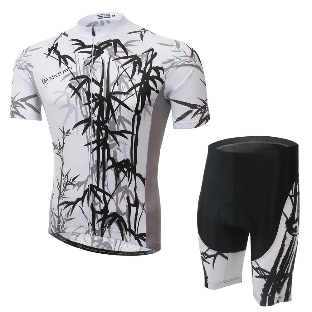 XINTOWN 2016 Cycling Jersey Men's Short Sleeve GEL Breathable Pad Mtb Bicycle Cycling Clothing Bike Wear Shirts Outdoor CC0323