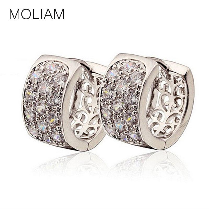 Серьги-кольца MOLIAM 18K Huggies